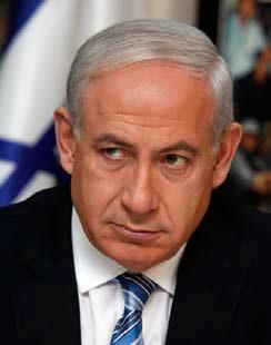 停戦案受け入れの用意があるイスラエルのベンジャミン・ネタニヤフ首相