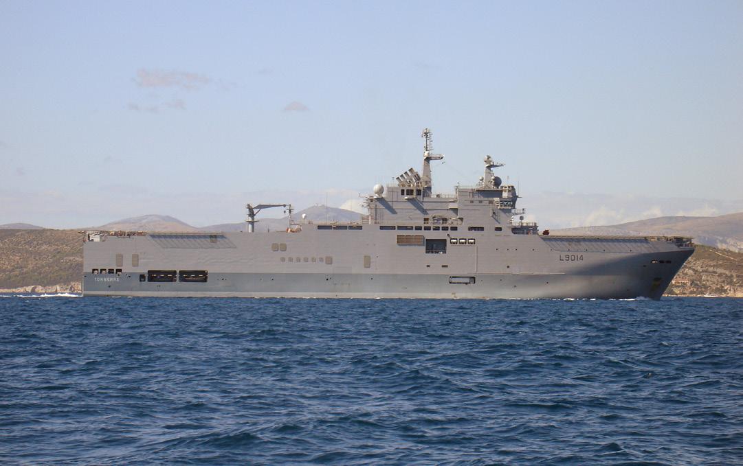 French amphibious assault ship Tonnerre (Wikipedia)